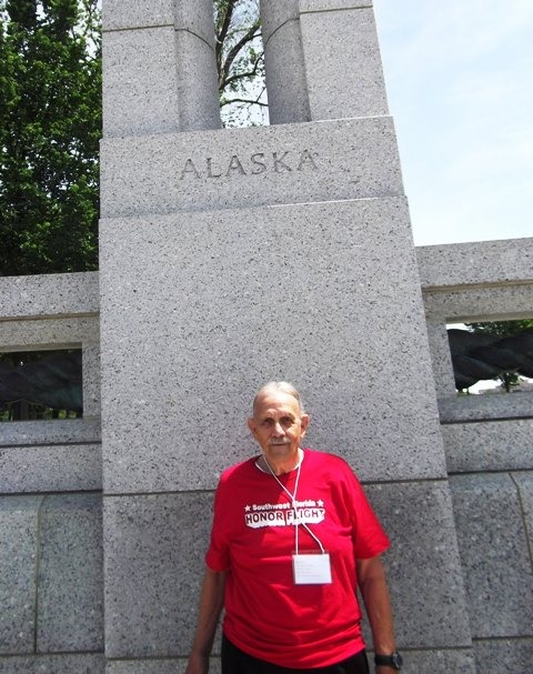 AK WW II Memorial