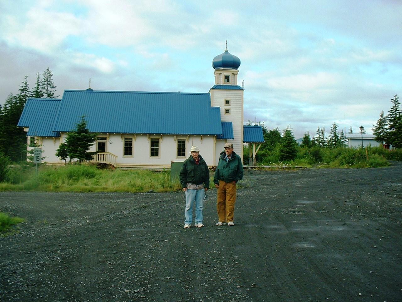 Russian Church Paul & Ben